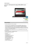 Lenovo IdeaPad Y500 MBG2BMH sivu 1