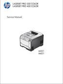 HP LaserJet Pro 400 Color M451DN page 1
