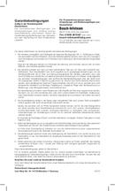 página del Bosch TDA4630 sensixx B3 secure 2