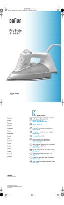 Braun ProStyle SI 8580 pagina 1