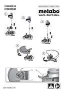 Página 1 do Metabo WEA 24-230 MVT Quick