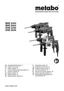 Metabo BHE 2644 Seite 1