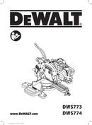 DeWalt DWS774 page 1