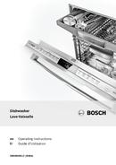 Bosch 800 Series SHX68T55UC pagină 1