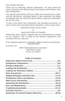 Bosch 800 Series SHX68T55UC pagină 3