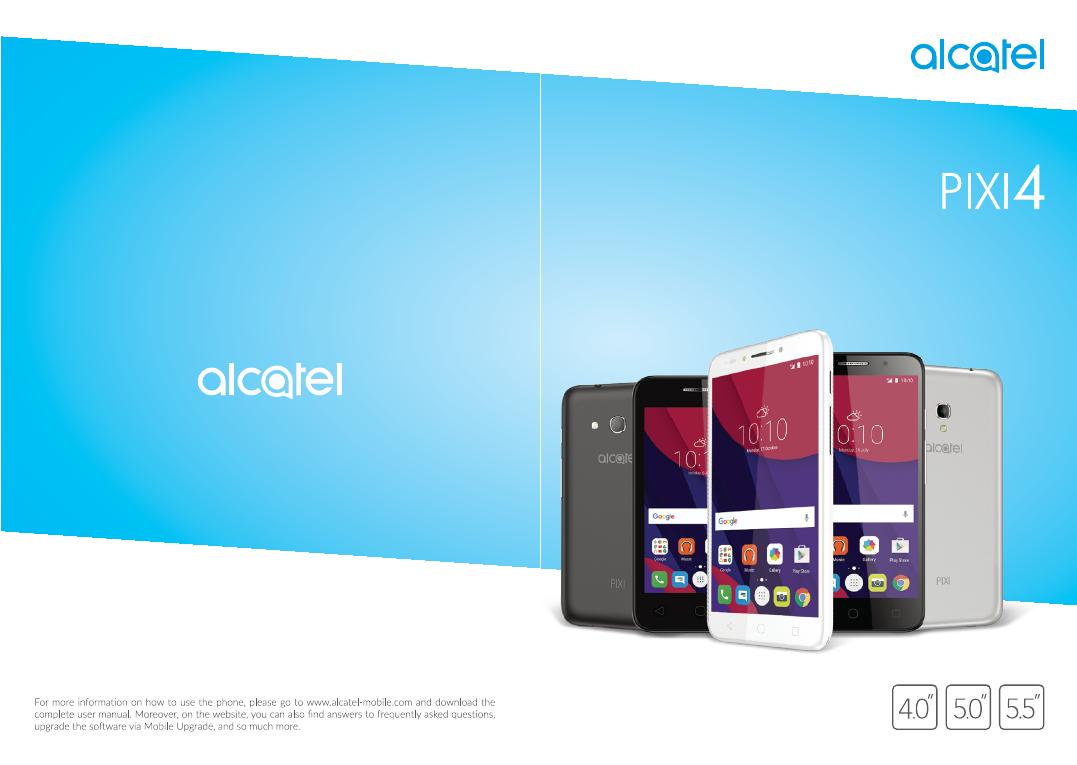 Alcatel PIXI 5045D manual