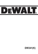 DeWalt DW341K page 1