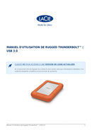 LaCie Rugged Thunderbolt pagina 1