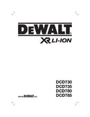 DeWalt XR DCD730C2KX pagina 1