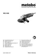 página del Metabo WQ 1400 1