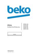 Página 1 do Beko 51510 AA