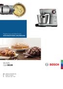 Bosch MUM9DX5S31 Seite 1