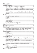 Vestel NATURE PLUS BUZZ INVERTER 18 sivu 4