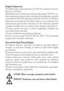 Vestel PLAZMA INVERTER 12 sivu 3