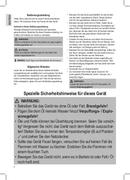 Página 4 do Clatronic FR 3649