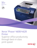 Xerox Phaser 4620DN page 1