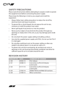 CYP AU-A300 pagina 4