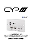 CYP PU-607BDWP-RX side 1