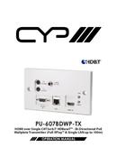 CYP PU-607BDWP-TX side 1