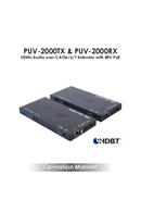CYP PUV-2000TX pagina 1