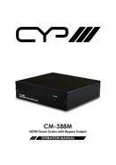 CYP CM-388M pagina 1