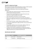 CYP CM-388M pagina 4