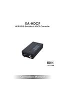 CYP XA-HDCP pagina 1