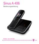 T-Mobile Sinus 406 Seite 1