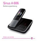 T-Mobile Sinus 606 Seite 1