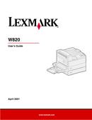 Lexmark W820n side 1