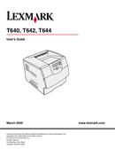Lexmark T644n side 1