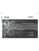 Pagina 1 del Chevrolet Traverse (2016)