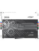 Pagina 1 del Chevrolet Trax (2016)
