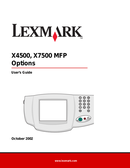 Lexmark X820e side 1