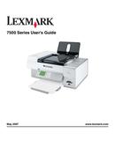 Lexmark X7550 side 1