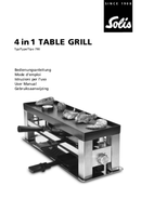 Solis 4 in1 Table Grill Type 790 pagina 1