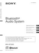 Sony MEX-BT2900 side 1