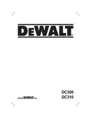 Pagina 1 del DeWalt DC310KL