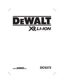 página del DeWalt DCS373 1