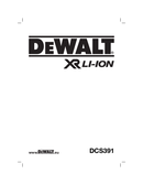 DeWalt DCS391 side 1