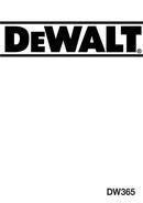 DeWalt DW365 page 1