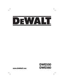 Pagina 1 del DeWalt DWE550