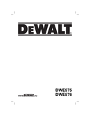 Página 1 do DeWalt DWE576