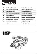 Makita BSS610ZX page 1