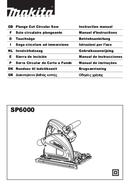 Makita SP6000K1X page 1