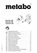Página 1 do Metabo BasicAir 350