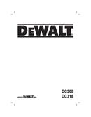 DeWalt DC308K pagina 1