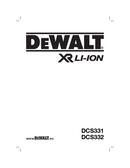 DeWalt DCS332 page 1