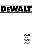 DeWalt DW321 page 1