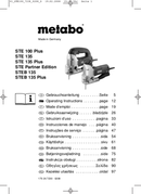 Página 1 do Metabo STE 100 Plus